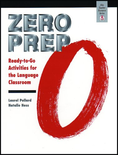 Zero Prep Rady-To-Go Activities for the Language Classroom Ready-To-Go Activities for the Language Classroom  1997 9781882483648 Front Cover