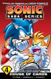 Sonic Saga Series 4: House of Cards  N/A 9781936975648 Front Cover