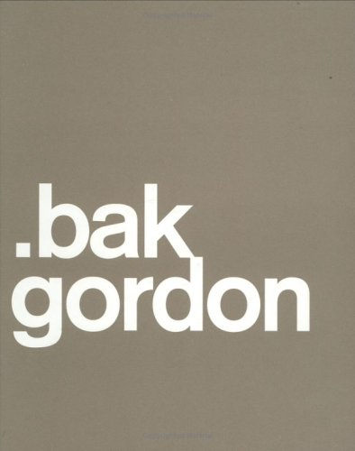 .bak Gordon  2006 edition cover