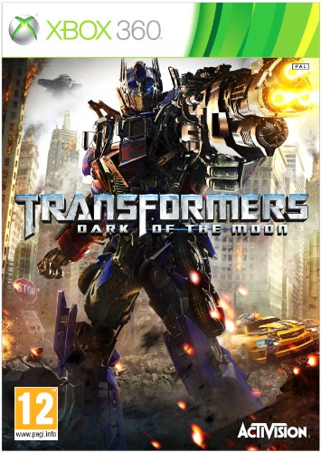 Transformers: Dark of the Moon (Xbox 360) Xbox 360 artwork