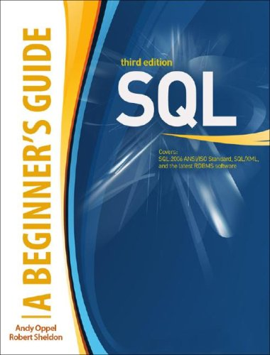 SQL  3rd 2009 edition cover