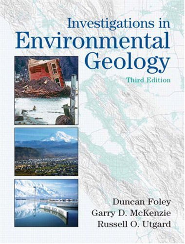 Investigations in Environmental Geology  3rd 2009 edition cover