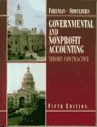 Governmental and Nonprofit Accounting Theory and Practice 5th 1996 9780133835649 Front Cover