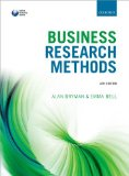 Business Research Methods  4th 2015 edition cover