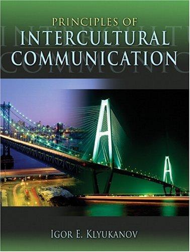 Principles of Intercultural Communication   2005 edition cover