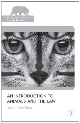 Introduction to Animals and the Law   2011 edition cover