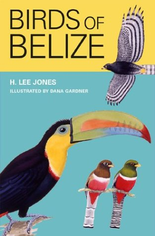 Birds of Belize   2003 edition cover
