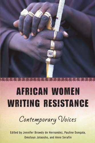 African Women Writing Resistance An Anthology of Contemporary Voices  2010 9780299236649 Front Cover