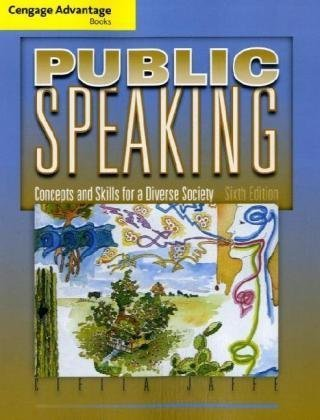 Cengage Advantage Books: Public Speaking Concepts and Skills for a Diverse Society 6th 2010 edition cover