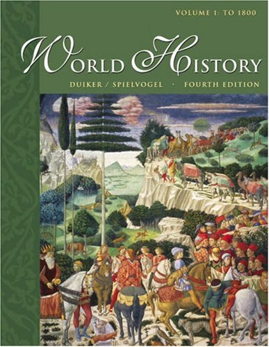 World History, to 1800  4th 2004 (Revised) 9780534603649 Front Cover