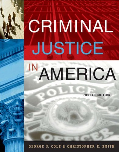 Criminal Justice in America  4th 2005 (Revised) 9780534629649 Front Cover