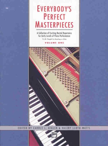 Everybody's Perfect Masterpieces, Vol 1   1989 edition cover