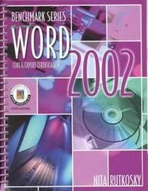 Microsoft Word 2002 : Expert Certification  2002 9780763814649 Front Cover