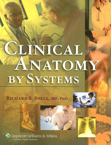 Clinical Anatomy by Systems   2007 edition cover