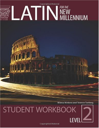Latin for the New Millennium  Workbook  edition cover