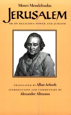 Jerusalem Or on Religious Power and Judaism  1983 edition cover