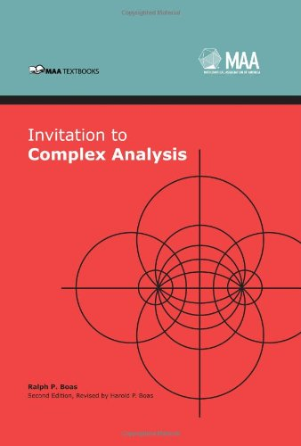 Invitation to Complex Analysis  2nd 2010 (Revised) edition cover
