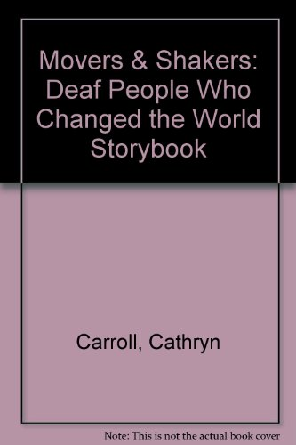 Movers and Shakers, Deaf People Who Changed the World Storybook  1997 edition cover
