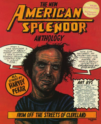 New American Splendor Anthology From off the Streets of Cleveland  1991 edition cover