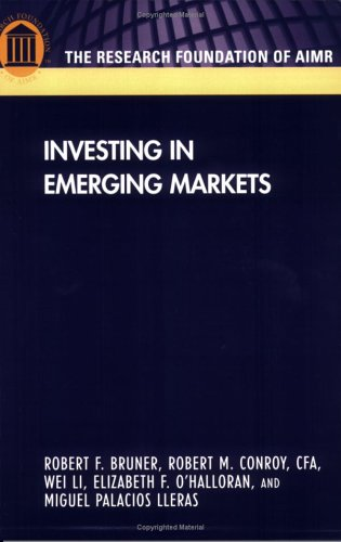 Investing in Emerging Markets N/A 9780943205649 Front Cover