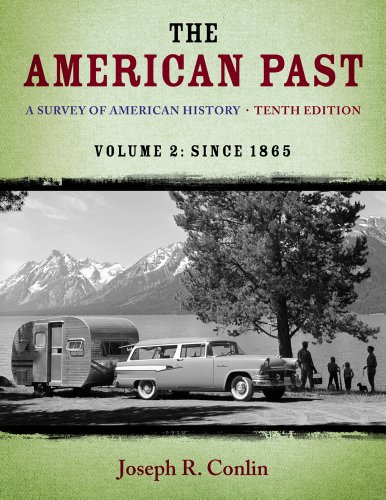 The American Past: A Survey of American History, Since 1865  2013 edition cover
