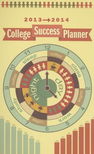 College Success Planner 2013-2014:   2013 9781285065649 Front Cover