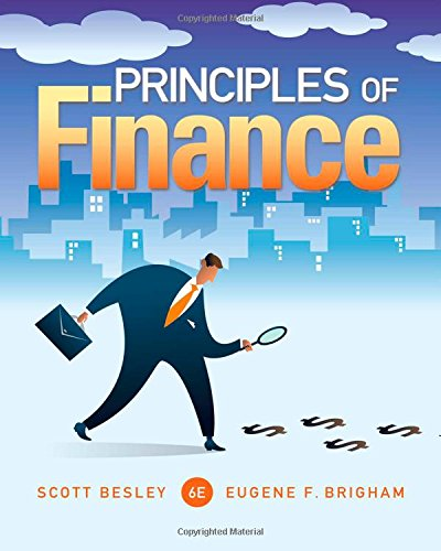 Principles of Finance:   2014 9781285429649 Front Cover