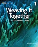 Weaving It Together 1  4th 2016 edition cover