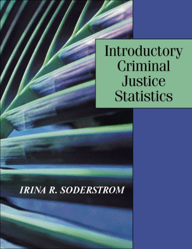 Introductory Criminal Justice Statistics  N/A edition cover