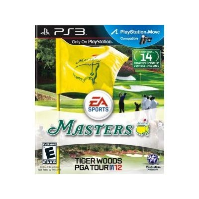 Tiger Woods PGA TOUR 12: The Masters - Playstation 3 PlayStation 3 artwork