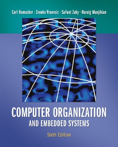 Computer Organization and Embedded Systems  6th 2012 9780073380650 Front Cover