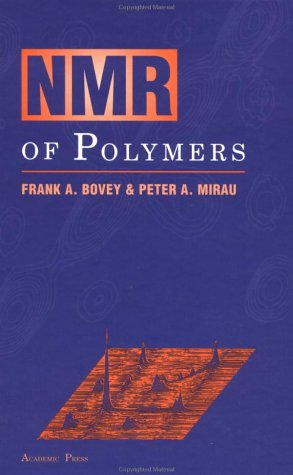 NMR of Polymers   1996 edition cover