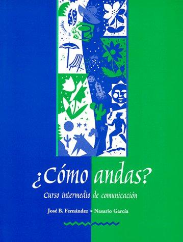 �C�mo Andas? - Curso Intermedio de Comunicaci�n   1998 edition cover
