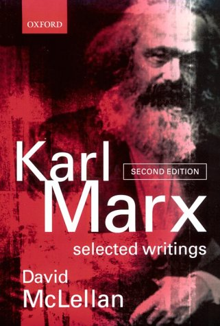 Karl Marx - Selected Writings  2nd 2000 (Revised) edition cover