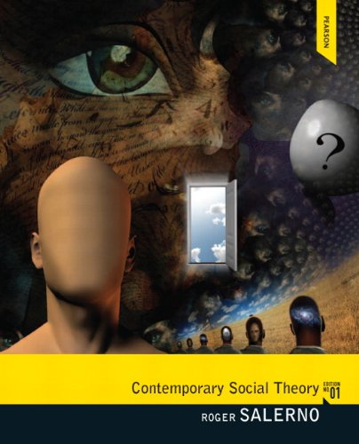 Contemporary Social Theory   2012 edition cover