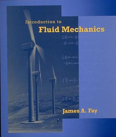 Introduction to Fluid Mechanics   1994 9780262061650 Front Cover