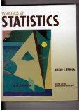 Essentials of Statistics 1st 2002 9780321106650 Front Cover