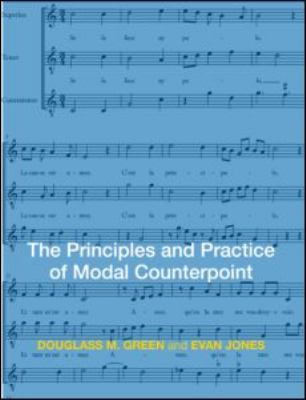 Principles and Practice of Modal Counterpoint   2009 edition cover