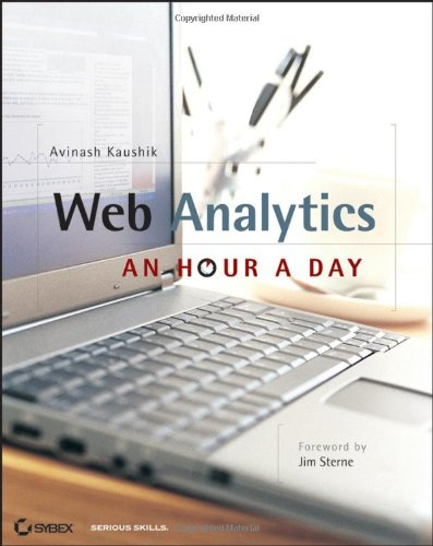 Web Analytics An Hour a Day  2007 edition cover