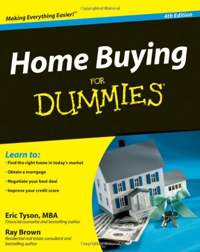Home Buying for Dummies  4th 2009 edition cover