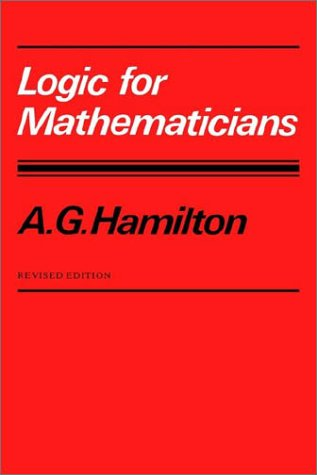 Logic for Mathematicians  2nd 1988 (Revised) edition cover