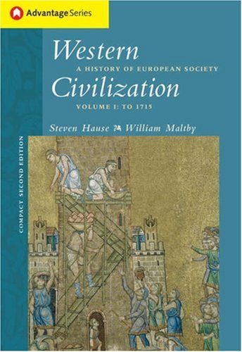 Western Civilization A History of European Society 2nd 2005 (Revised) 9780534621650 Front Cover