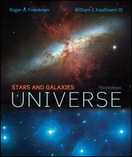 Universe: Stars and Galaxies w/Starry Night/Deep Space Explorer CD  3rd 2008 (Revised) edition cover