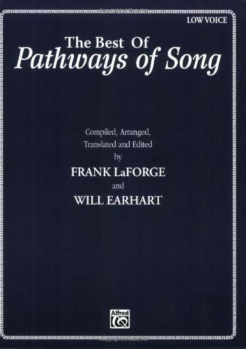Best of Pathways of Song Low Voice  1994 edition cover