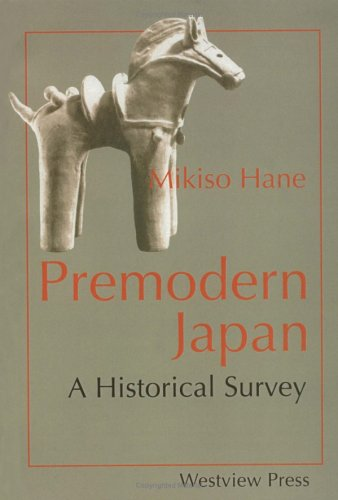 Premodern Japan A Historical Survey  1991 edition cover
