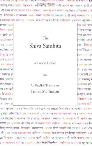 Shiva Samhita A Critical Edition and an English Translation  2007 edition cover