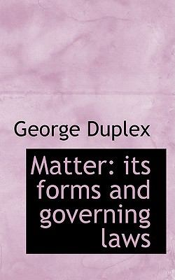 Matter: Its Forms and Governing Laws  2009 edition cover