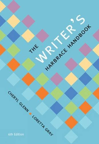 The Writer's Harbrace Handbook:   2016 9781305659650 Front Cover
