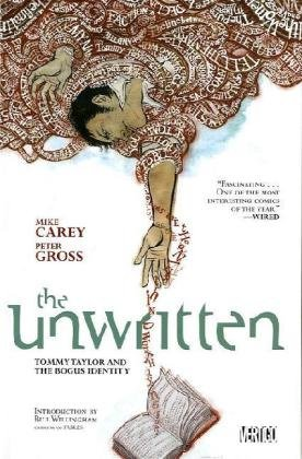Unwritten Tommy Taylor and the Bogus Identity  2010 edition cover