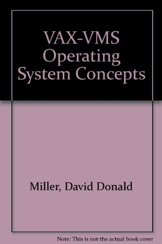 VAX-VMS Operating Systems Concepts 1st 1992 9781555580650 Front Cover